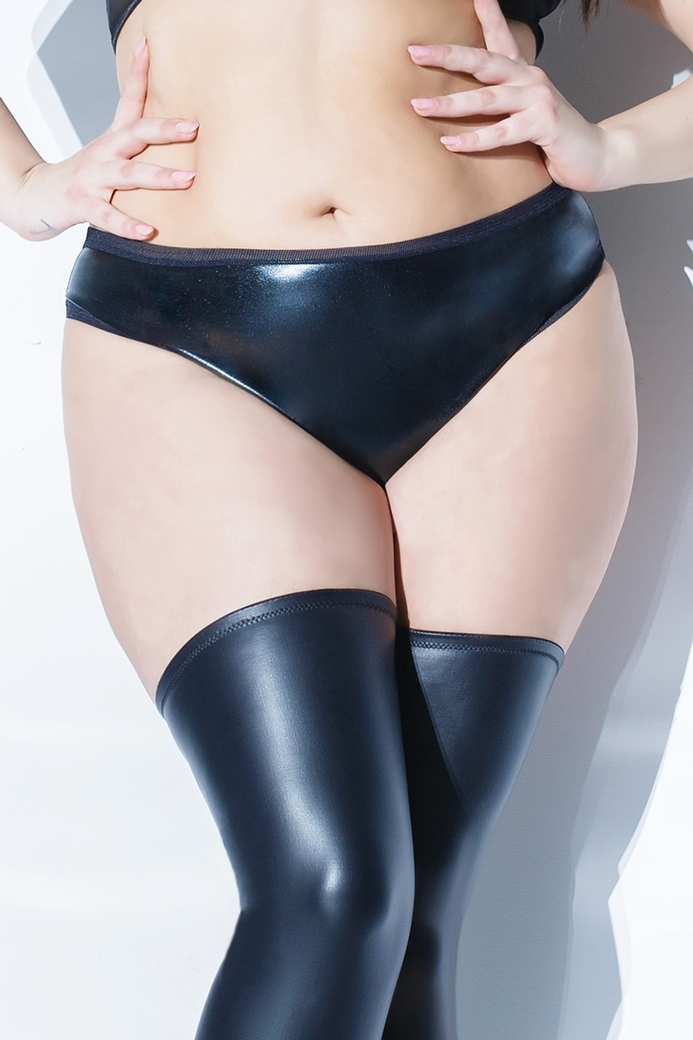 Culotte en wetlook